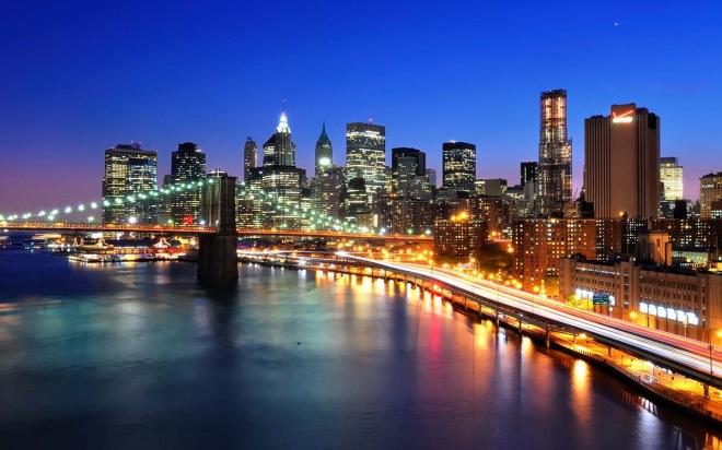 new-york-night-bridge
